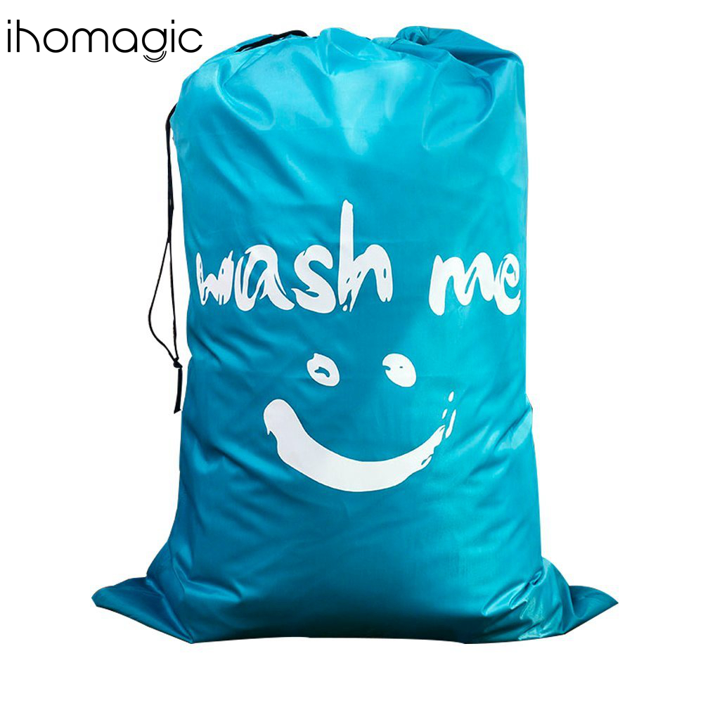 Amazon HOT Wholesale Supplier low price waterproof cheap Drawstring Home Hotel Laundry Bag