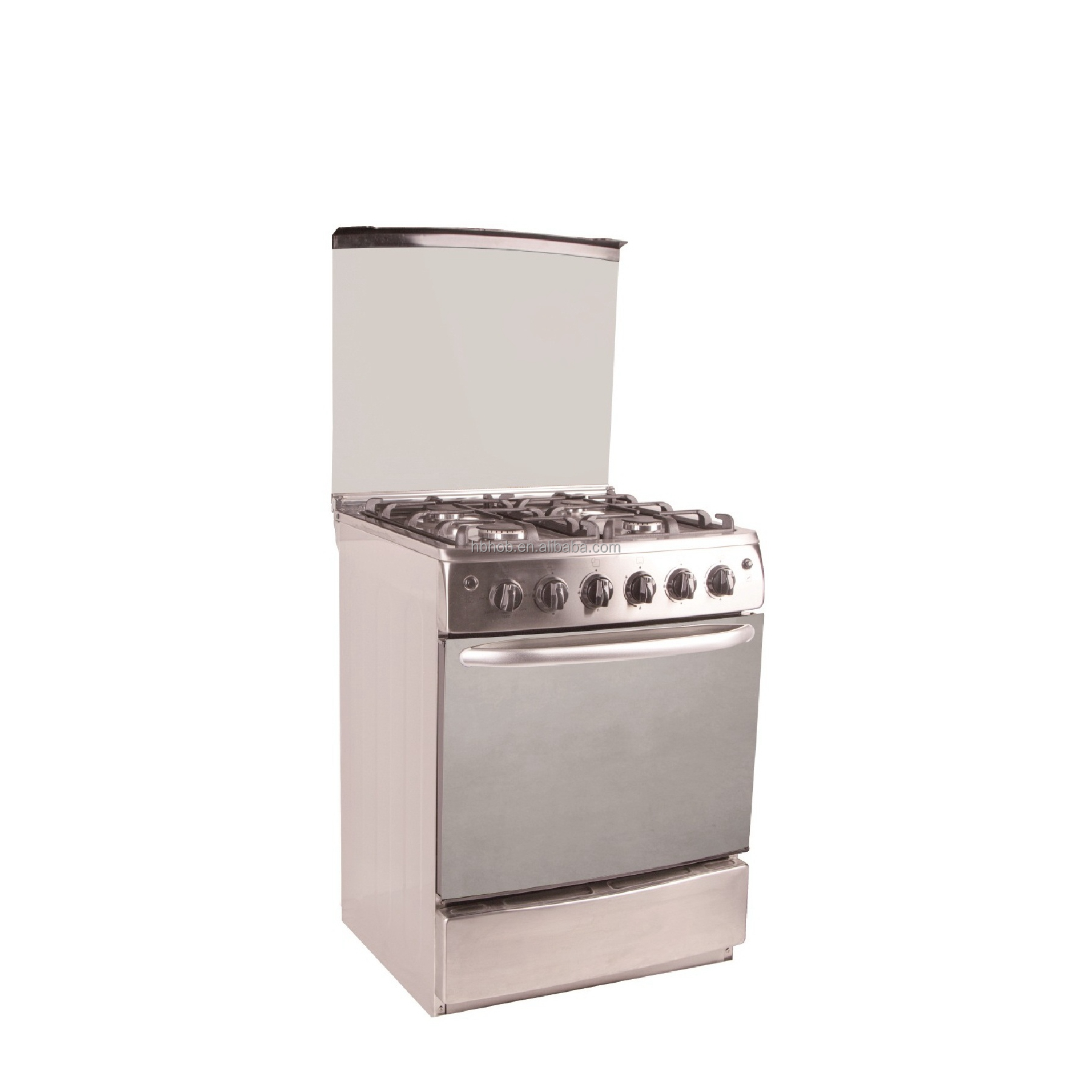 universal 4 burner gas cooker with oven gas stove with grill and oven