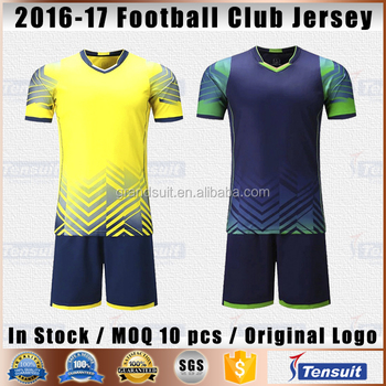 2017-2018 temporada Tailandia uniformes de fútbol personalizada sublimación  conjunto completo fútbol chándal barato kits f0c3db217465f