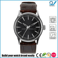 OEM Custom Logo Watches Brand 3 ATM Water Resistant Stainless Steel Back Quartz Watch For Women Gift