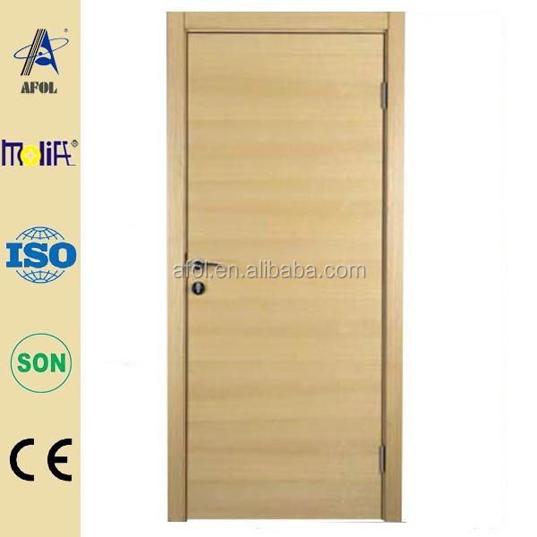 zhejiang afol dormitorio de madera esmalte de puertas interiores de madera maciza puertas dobles