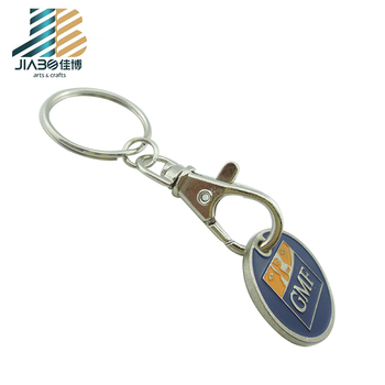 personalized custom coin token trolley token keyrings