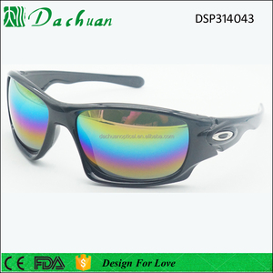 Good sale design sport style mirror custom oak sunglasses polarized sunglasses