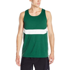 Seamless Breathable Fitness Bodybuilding Polyester Singlet
