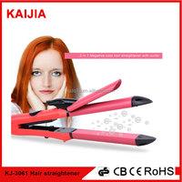 Wholesale flat iron salon hair straightener and curler