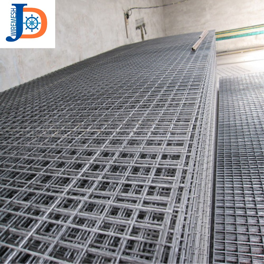 smooth surface 2x2 galvanized welded wire mesh panel