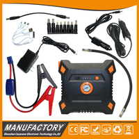jump start with air compressor 15000mAh new design for car tire