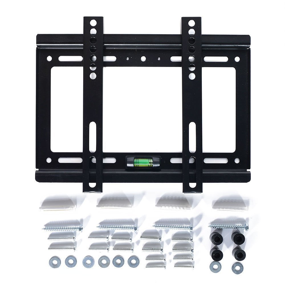 "Level Adjustable 55lbs Fixed TV Wall Mount Bracket for 14"" 19"" 22"" 26"" 28"" 29"" 32"" 37"" 39"" 42"" inch Flat LED LCD"