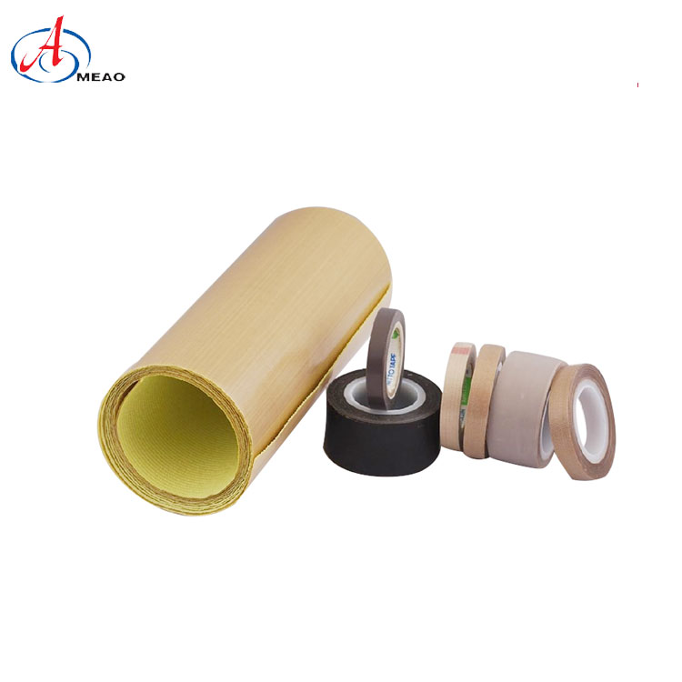 High-temperature Resistant Non-stick PTFE Fiberglass Fabric Adhesive Tape