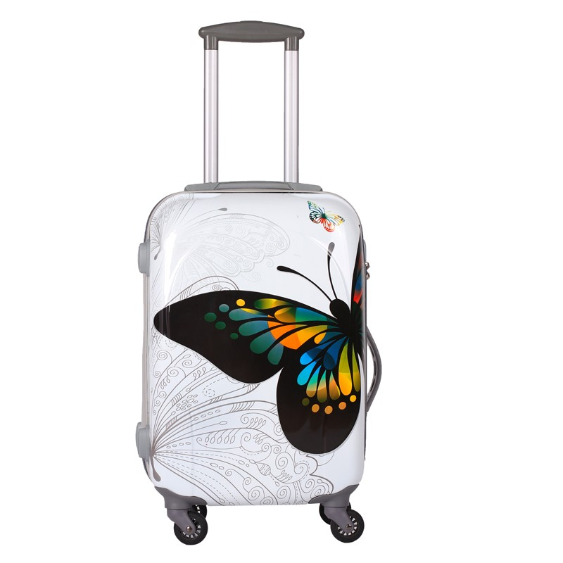 attractive price amazing price on feet shots of Ladies Fancy Printing Travel Luggage Bags - Buy Printing Travel ...
