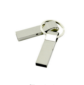 Hot Sale 64GB 32GB 16GB 8GB 4GB pen drive waterproof metal silver u disk memory disk usb 2.0