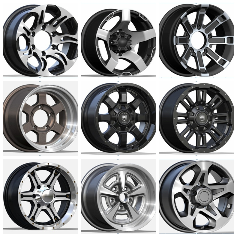 A356.2 Aluminium Alloy Wheel Rims For Racing Cars