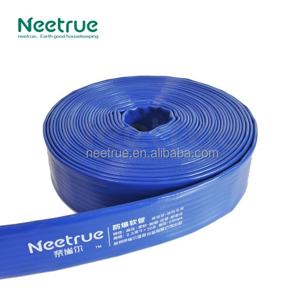 Neetrue PVC Heavy Duty Layflat Discharge Hose/Agriculture Lay Flat Hose Pipe
