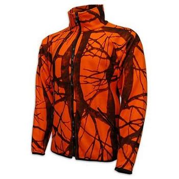 c3e2b45bb89b6 Wholesale Orange Camouflage Hunting Fleece Jacket - Buy Hunting ...