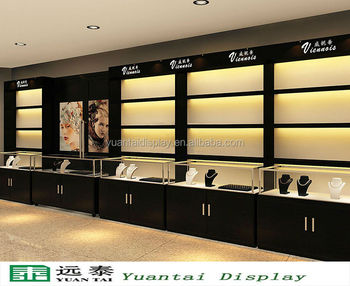 Charmant Luxury Wooden Display Cabinet And Showcase For Jewelry Store Jewellery Shop  Furniture Design