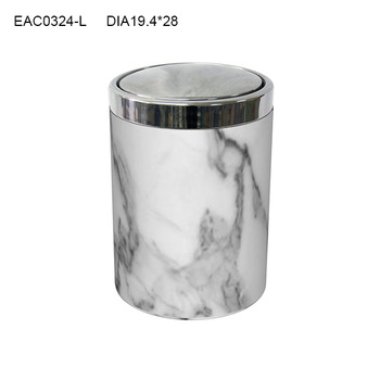 Etonnant Modern Bathroom Design Marble Effect Waste Bin / Trash Can/ Ash Bin/ Garbage