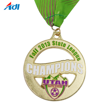 Personalized 3D  Logos commemorative Medal with Lanyard For Sale