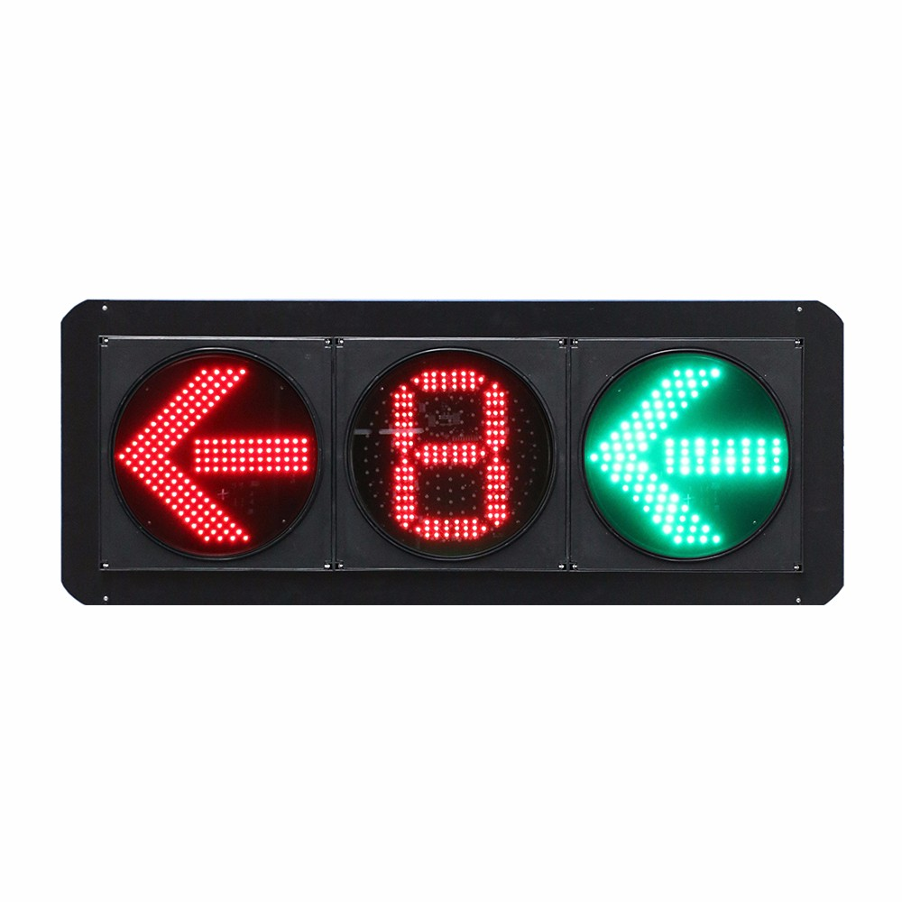 2018 Top vehicle traffic signals red and green pedestrian light