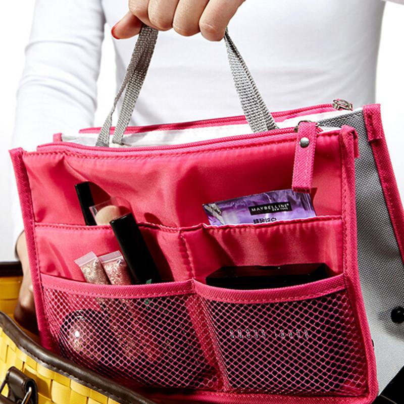... Y FLY 2016 Multifunction Makeup Organizer Bag Women Cosmetic Bags  toiletry kits Outdoor Travel Bags Ladies ... c45d649fd