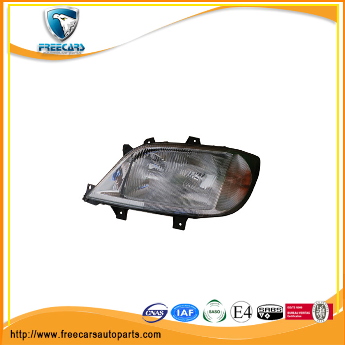 Head Lamp Left Hand Drive With Fog Lamp-Manual suitable for MERCEDES BENZ