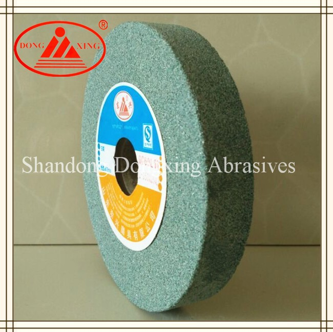 6 inch 8 inch Green Silicon Carbide Grinding Wheel