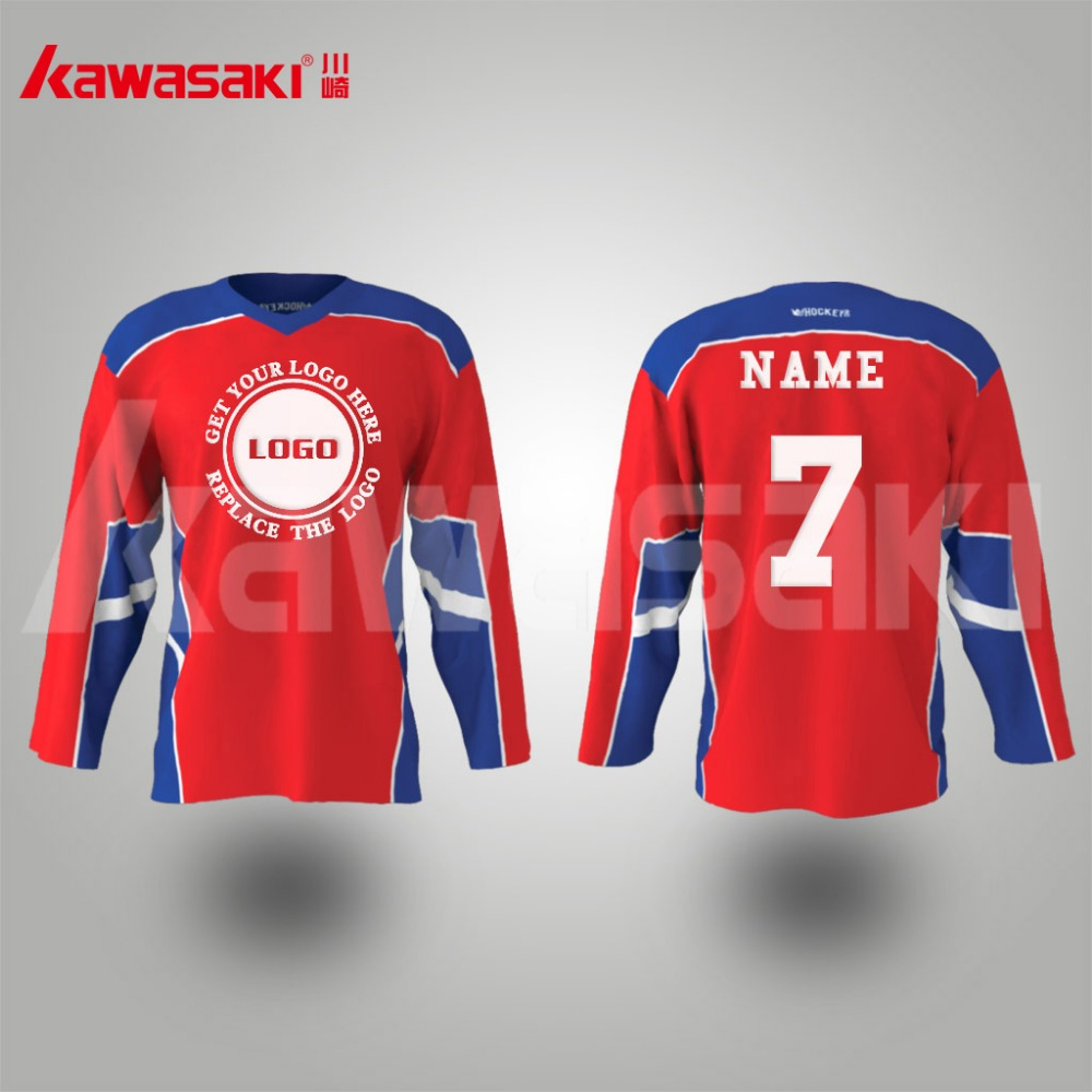 Hot selling international size sublimation 5xl team hockey jerseys