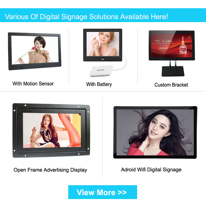 """19"""" android digital signage player with software wifi marketing advertising equipment"""