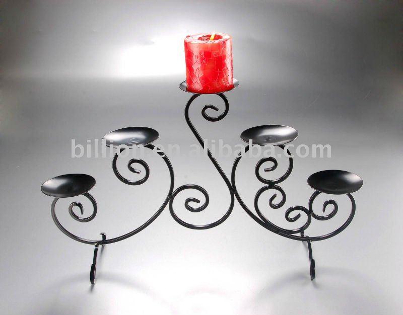 Decorativos de hierro forjado candelabros de hierro candelabros ...