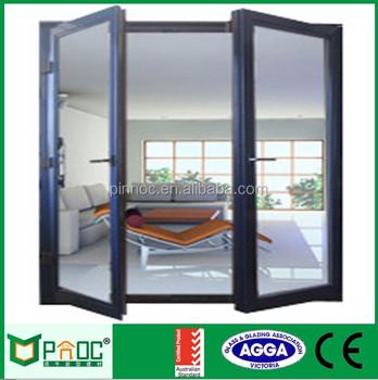 Aluminium Framed Hingedcasementswing Glass Doordouble Glazed