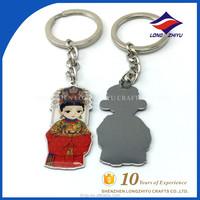Personalized Funny Boy Girl Couple Keychain
