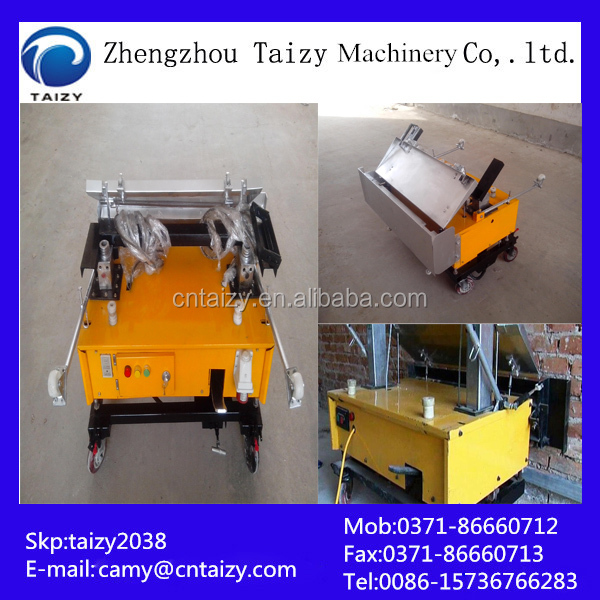 <strong>Manufacturing</strong> in China Cement spraying plastering machine for wall