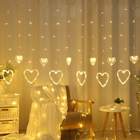 Led Wedding Fairy String Christmas Light For Garden Party Led Curtain String Light Decoration