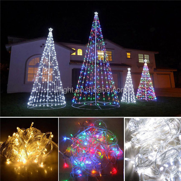 new 10m 100 led string light outdoor garden lamp christmas garland street cone tree decoration buy new 10m 100 led string light outdoor garden lamp