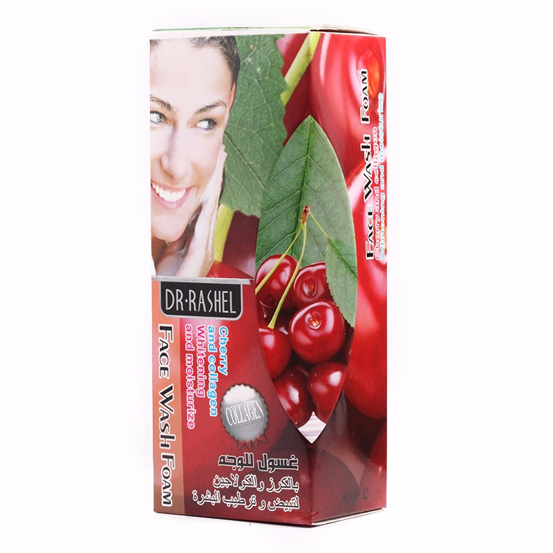 DR.RASHEL Cherry Collagen skin care beauty whitening facial cleanser 80ml