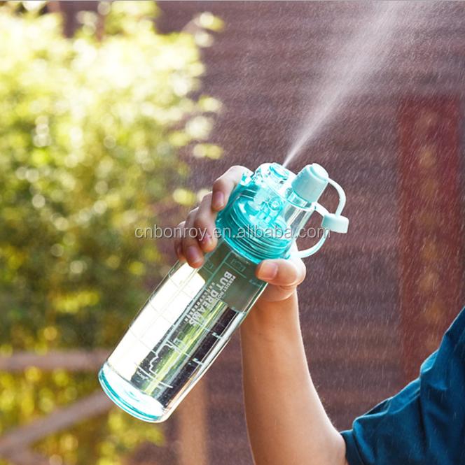 Mist And Sip Water Bottle Sprays Plastic Drinking Bottles For Bikebpa  Free600ml - Buy Mist Spray Water Bottle Sport Anti-leak Drinking Water  Bottle