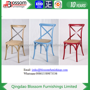 Antique Appearance and Restaurant Furniture,Chair Type Solid Wood Crossback Chair