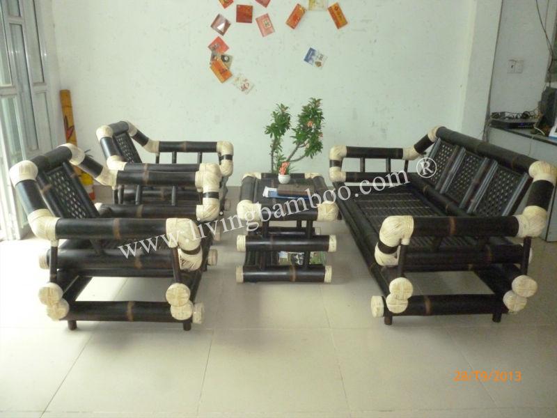 Ha Noi Bamboo Living Room Set,Bamboo Sofa - Buy Bamboo Sofa,Sofa Set,Bamboo  Furniture Product on Alibaba.com