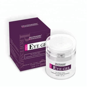 Small Quantity OEM Reduce Fine Line Eye Gel For Dark Circles Ageless Eye Cream