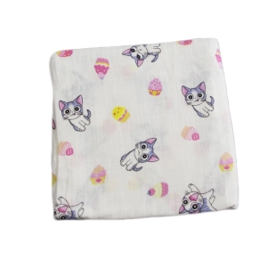 hot sale newborn cotton muslin blanket soft baby swaddle blanket