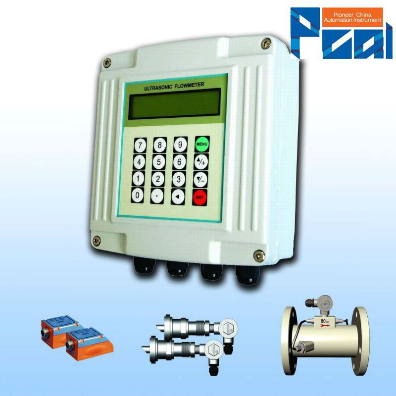 TUF-2000F Wall mounted ultrasonic fuel pump and flow meter
