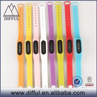 China cheap heart rate function famous top branded various color pedometer watch