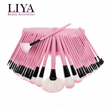 Wholesale 32 Pieces Halal Make Up Brushes Makeup Brush Set With Pouch Bag  Kit - Buy Make Up Brushes Makeup Brush Set,Halal Makeup Brush,Makeup Brush
