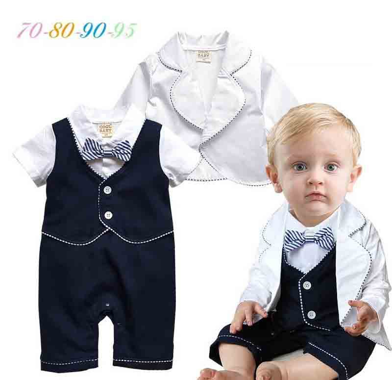 28b24f9a051 Get Quotations · 2015 New Spring Baby Boy Clothing Sets ( Fashion Bow Tie  Gentlemen Baby Boy Romper Short