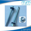 Australia type hex flange head self drilling screw roofing screw