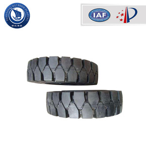 high assessment most popular 300mm solid rubber truck forklift tire 700x15