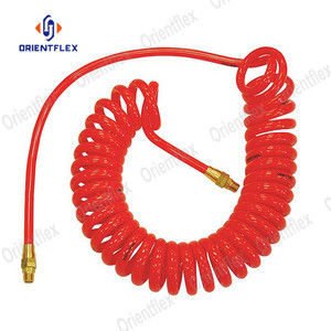 Cheap flexible pa truck air brake coil hose for sale