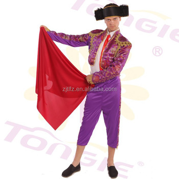 Hot sale funny male matador costume sexy carnival cosplay costumes with hat