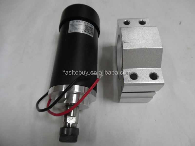 LD52GF-400W 400W 12000rpm 24-52VDC ER11 3.175mm brushed low speed spindle motor for cnc