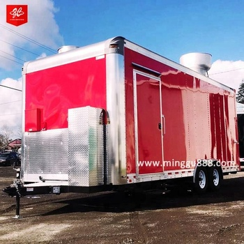 2018 New Product Stainless Steel Mobile Ice Cream Food Truck