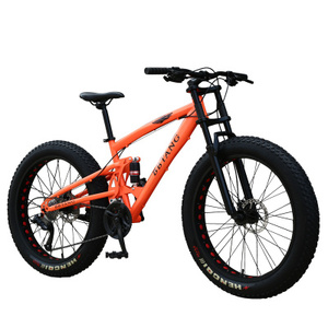 "China Cruiser Snow Beach Sand Fat Mountain Bike 26"" inch fat tire bicycle"